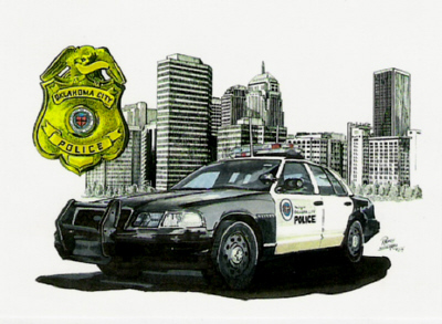 Oklahoma City Police Department Badge
